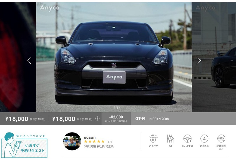 NISSAN GT-R Anyca(エニカ)